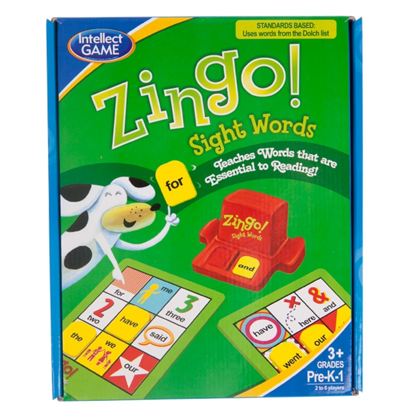 Zingo İngilizce Sight Words